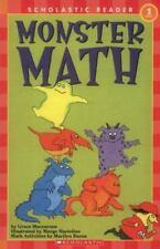 Monster Math (Scholastic Reader, Level 1) Grace Maccarone Paperback