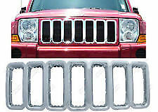 IWCGI/24 2005-2011 Jeep Commander Grille Overlay Promaxx Chrome Plated NEW
