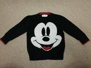 Baby Gap Disney Mickey Mouse Knitted Jumper Age 2 Years