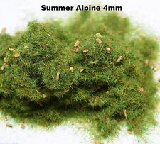 WWS Summer Alpine Static Grass 4mm 10g G,O,HO/OO,TT,N. Wargames Model Basing