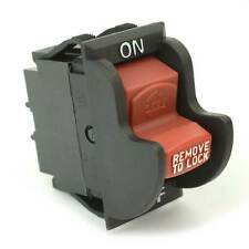 On-Off Toggle Switch rep Delta 489105-00 1343758 (Optional Lock) Ryobi - 18803