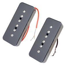2x P90 Soapbar Humbucker Pickup Neck&Bridge Pickups for LP EPI Guitar Parts