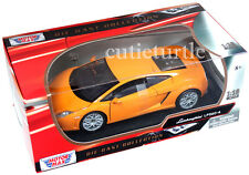 Motormax Lamborghini Gallardo LP 560-4 1:18 Diecast Model Car 79152 Orange