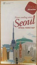 Seoul Official Tourist Guide Book English Map Walking Travel South Korea Tour