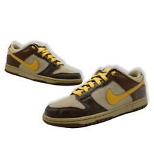 2008 Nike SB Dunk Low 6.0 Dark Brown Tan SZ US 8 314142 271 Clean RARE