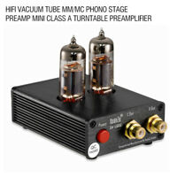 HiFi Vacuum Tube MM Phono Stage Preamp Mini Class A Turntable Preamplifier