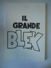 Il Grande BLEK Catalogo 2001 Fuori serie Libreria Milone - Rarissimo [G661]