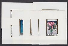 1966 flower,eight die proofs,MNH          g1455