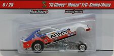 "Don Prudhomme's 75 Chevy Monza Funny Car ""ARMY"" Drag Strip  New in Package!"