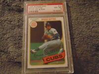 1980 Topps Burger King Bruce Sutter Card #11 PSA 8 NM-MT Chicago Cubs HOF