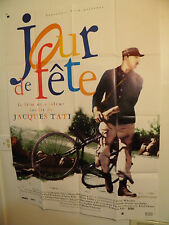 JOUR DE FETE  Large FRENCH POSTER Jacques Tati The Big Day Mailman