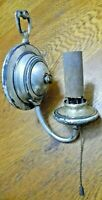 Vintage Arts & Crafts metal wall sconce light fixture  (LW3)
