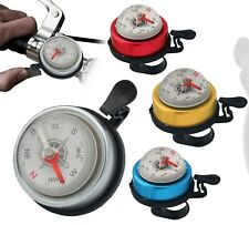 Mountain Bike Sport Bike Bicycle Bell Horn Ring Cycling Alarm With Compass