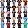 Summer Womens/mens Animal Funny 3D print Short Sleeve Casual T-Shirts S-5XL A30
