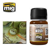 Ammo de Mig 35ml óxido ligero lavado de Esmalte # MIG-1004