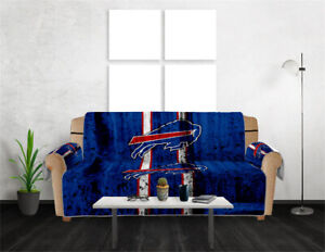 Buffalo Bills Sofa Covers Chair Couch Covers Elastic Slipcovers Protector Decor