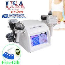 8in1 Cavitation Vacuum Multipolar RF BIO Body Slim Machine Weight Loss Beauty CE
