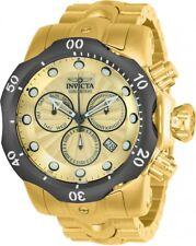 New Mens Invicta 23894 Venom Chronograph Stainless Steel Bracelet Watch