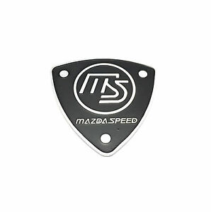 Mazdaspeed Metal MS Badge Emblem sticker Mazda6 626 Miata trunk Capella Triangle