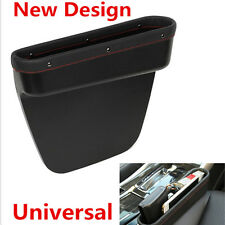 Car Seat Crevice Storage Box Leather Auto Seat Gap Pocket Organizer Contect Boxe
