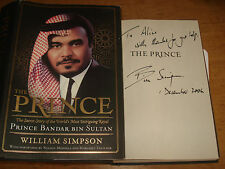 The Prince: The Secret Story of the royal,BY WILLIAM SIMPSON SIGNED COPY FIRST
