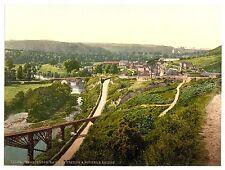 5 Victorian Photos Torrington Rothern Bridge Railway Castle Taddiport Pictures