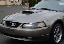 1999-2004 Ford Mustang GT Hood Scoop Fits V6, V8 MRHoodScoop UNPAINTED HS001