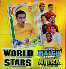 Full Case Of 2010 Match Attax World Stars Cards(12 Box)