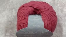 Debbie Bliss Eco Baby 100 Organic Cotton Hand Knitting Yarn 50g Various Shades 12 - Rose