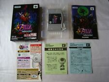 Nintendo 64 The Legend of Zelda Majora's Mask N64 Japan Boxed CLEAN