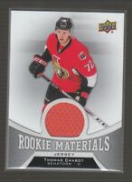 (74878) 2016-17 UPPER DECK ROOKIE MATERIALS THOMAS CHABOT #RM-TC