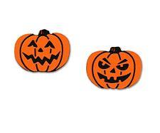 Sienna Sky Jack O Lantern Post Earrings Handmade Halloween Pumpkin Stud Orange