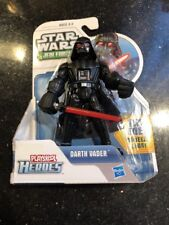 "Star Wars Jedi Force Playskool Heroes Darth Vader 5"" Action Figure New"