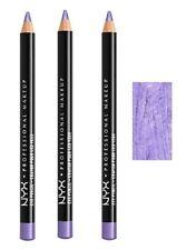 3 NYX Glitter Eyeliner Eyebrow Eye Pencil Lavender Glitter 935