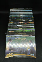 cryptozoic Outlander CZX complete base set 1-54 claire sam insert pack box