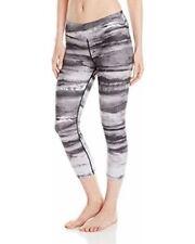 prAna Women's Roxanne Capri Workout Pants Leggings Black Tide Size M NWT