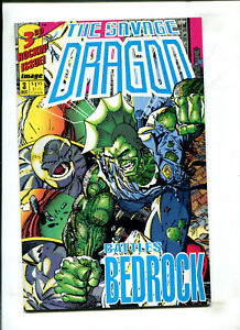 SAVAGE DRAGON #3 - BATTLES BEDROCK (9.2) 1992