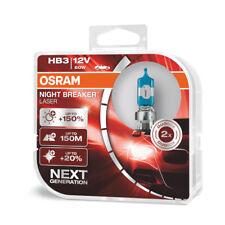 COPPIA Lampada Lampadina Luce OSRAM NIGHT BREAKER [LASER] HB3 9005 (P20d) 12V 60