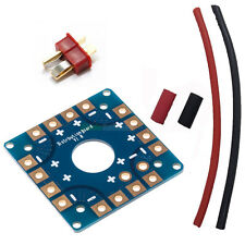 DIY POWER DISTRIBUTION BOARD COMPACT KIT + DEANS QUADCOPTER HEX OCTO TRI ESC RC