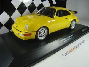 PORSCHE 911 TURBO (964) 1990 1/18 MINICHAMPS (YELLOW)