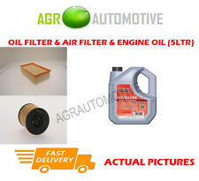 DIESEL OIL AIR FILTER KIT + FS 5W40 OIL FOR CITROEN C4 2.0 150 BHP 2009-