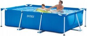 Piscina Intex 28270 Pool 220x150x60cm Bastidor de Metal-Frame Piscina *Nuevo* *