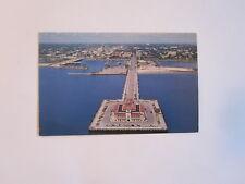 ST. PETERSBURG, FLORIDA MUNICIPAL PIER CASINO 1968  POSTCARD