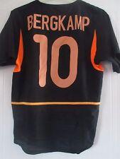 Holland 2002-2004 Bergkamp #10 Away Football Shirt Size Small /41026