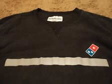DOMINO'S PIZZA Reflective Stripes Embroidered Sweatshirt Shirt Size 2XL