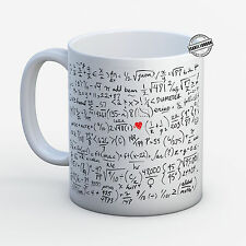 Personalised MATHS EQUATIONS FORMULAS MUG. Customise with your own text. -IL6138