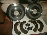 MGB REAR BRAKE SHOES , DRUMS ,CYLINDERS 68-80 CONVERTABLE / ROADSTER