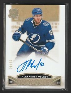 2019-20 The Cup Gold Alexander Volkov 28/36 Rookie Auto