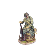 NOR067 US 101st Airborne Paratrooper Sitting on Crates by First Legion