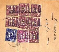 MS1298 1963 GB *CANCELLED* Postmark POSTAGE DUES Kent Vehicle Licenses Receipt